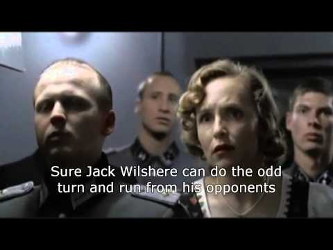 Hitler reacts to Wilshere's England comments