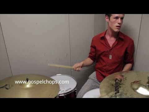 &quot;The Berklee Files&quot; @ GospelChops.com featuring Isaac Haselkorn on drums (HD)