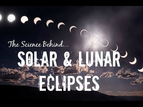 The Science Behind... SOLAR & LUNAR ECLIPSES