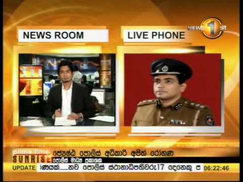 Newsfirst Prime time Sunrise Sirasa TV 6 15AM 02nd July 2014