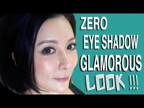 [零眼影}華麗眼妝★Zero Eye Shadow Glamourous Look★