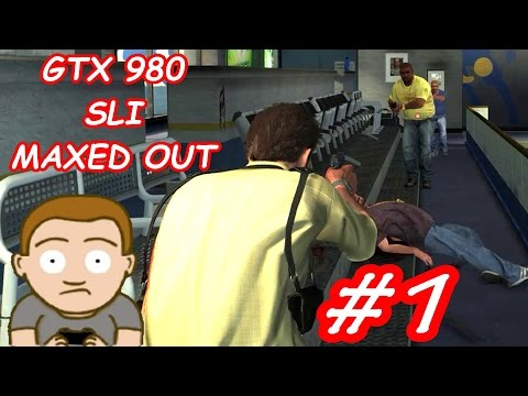 Max Payne 3 MAXED OUT GTX 980 SLI FPS Frame Rate Performance Test #1