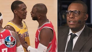 Paul Pierce 'not surprised at all' by Chris Paul-Rajon Rondo fight | After The Buzzer