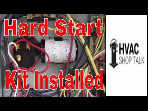 HVAC Repair: Installing a Hard Start Kit