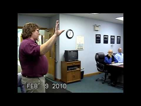 Champlain Town Board Meeting 2-9-10