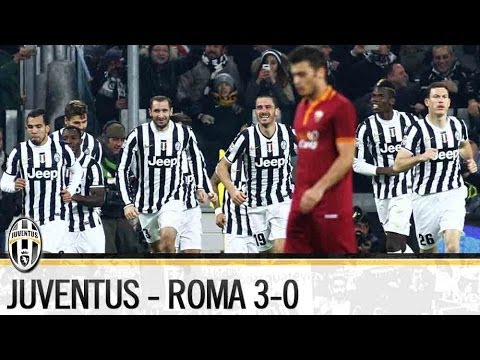 Juventus-Roma 3-0  5/01/2014 Highlights