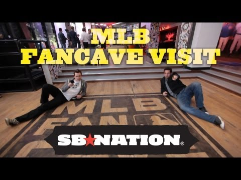 The MLB Fan Cave tour to end all tours: Inside MLB's playground
