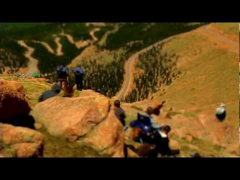 2011 Pikes Peak Hill Climb - Tilt Shift