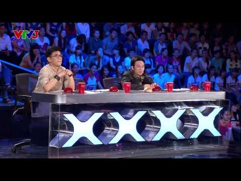 Vietnam's Got Talent 2014 - TẬP 05 - Ảo thuật đường phố - Cao Luận