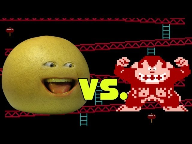 Annoying Orange - Grapefruit Vs. Donkey Kong