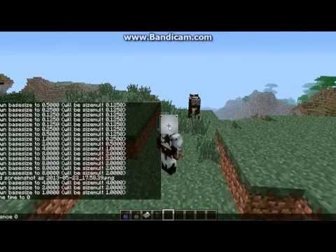 Let's play Minecraft! Mod showcase: Gulliver! (Turn your sound down)