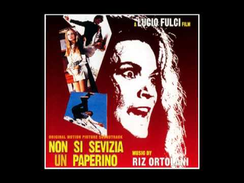 "Riz Ortolani music from the Lucio film DON'T TORTURE A DUCKLING, Music from the soundtrack to ""Don't Torture a Duckling"" composed by Riz Ortolani. ""Don't Torture a Duckling"" (Italian: ""Non si sevizia un paperino"") is a 1972 Italian giallo film directed by Lucio Fulci."