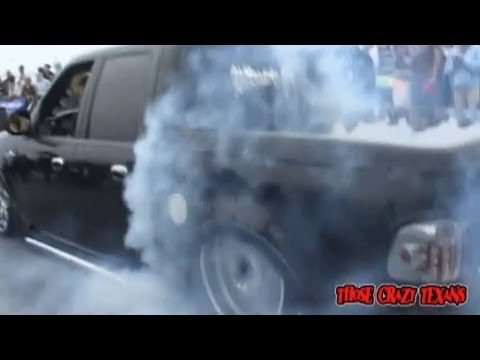 Custom Bagged Ford F150 Burnout