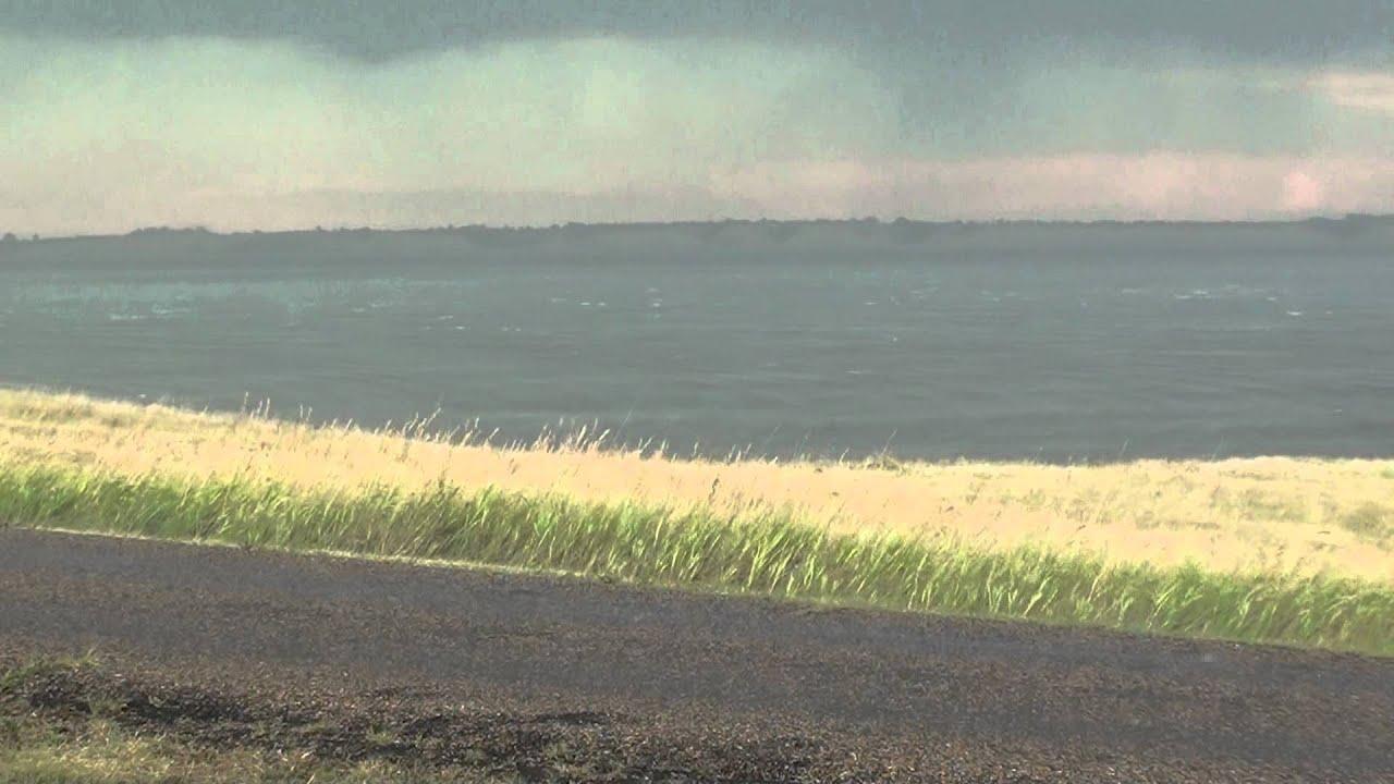 Summer storm on lake sakakawea youtube for Lake sakakawea fishing