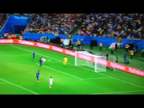 Mario goetze goal World Cup final 2014