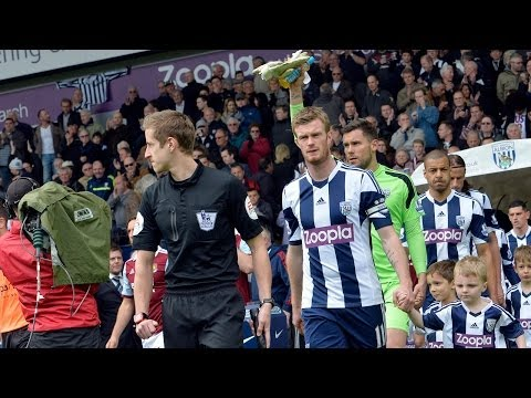 Chris Brunt discusses West Bromwich Albion's Premier League win over West Ham United