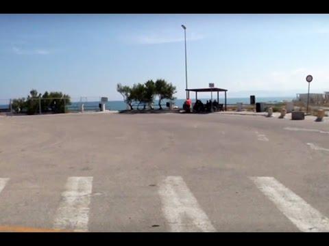Platamona: lavori alla Rotonda dopo il crollo