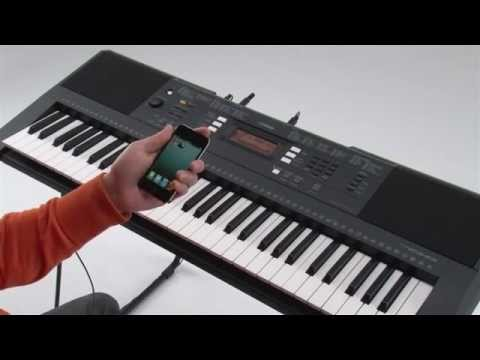 Yamaha psr e343 psr e243 and ios applications youtube for Yamaha psr e243 accessories