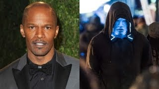 "Jamie Foxx ""Electro"" 'The Amazing Spider-Man 2' First Look"