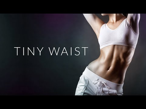 How To Get A TINY WAIST (Best Exercises | No WAIST TRAINERS!)