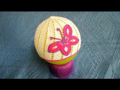 Украшение шапочки бабочка. Decoration butterfly hats. - iwbc.ru
