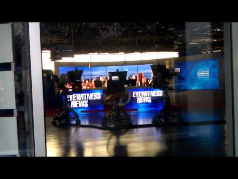 Unveiling of WABC-TV's New Studio