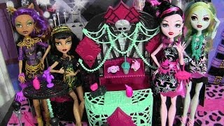 MONSTER HIGH FRIGHTS CAMERA ACTION PREMIERE