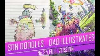 DRAWING with my kids - ROYAL GARDEN KNIGHT [FULL VERSION] No.35
