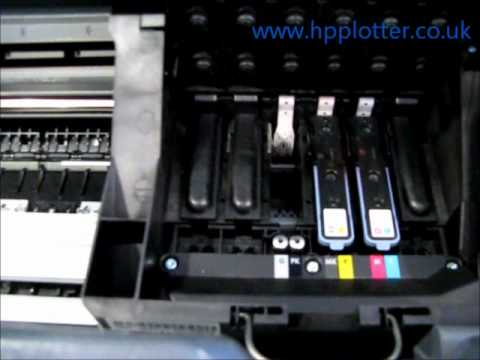 Designjet Designjet T1100/T1120 - Replace printhead on your printer
