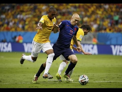 Brazil vs Netherlands  0-3 , All Goals and skills world cup 2014