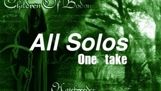Solos De Guitarra - Hatebreeder Album(one Take)