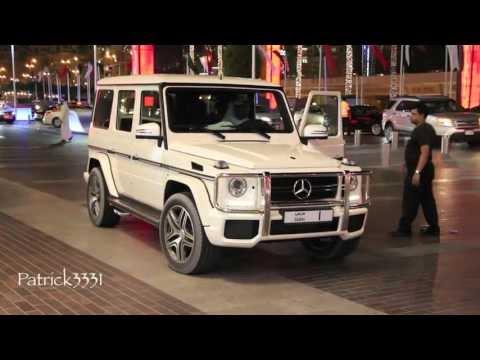 Sheikh Mohammed Bin Rashid Al Maktoum - arrival & departure - G63 AMG V8 Biturbo Mercedes-Benz No. 1