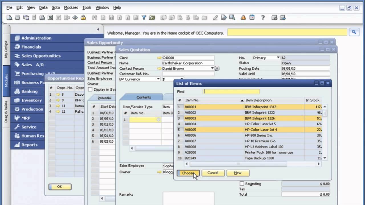 sap b1 production module pdf