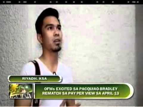 BME ZHARIYA ALAMADA OFWS EXCITED SA REMATCH NI PACQUIAO AT BRADLEY