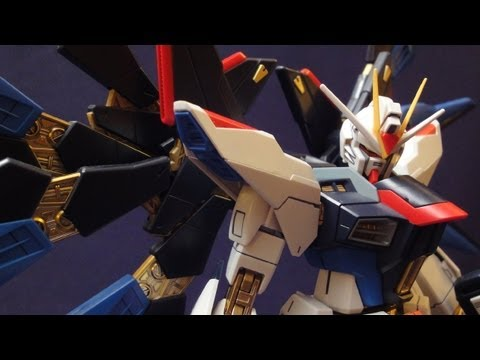 MG Strike Freedom (Part 4: Verdict) Full Burst Mode: Gundam Seed Destiny review