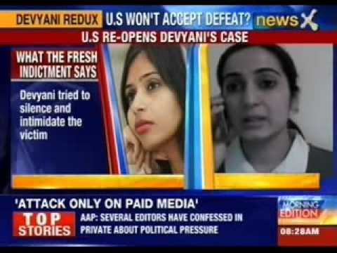 Federal prosecutors re-indicts Devyani on charges of visa fraud