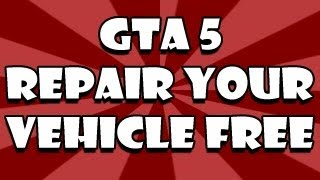GTA 5 Glitch: Fix Your Vehicle For FREE Anytime (Grand