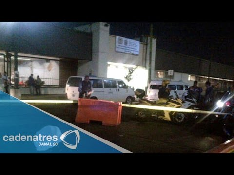Automovilista atropella a policía en la colonia Pantitlán / Run over police in the colony Pantitlán