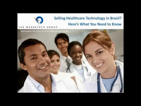 Selling Healthcare Technology in Brazil? Here's What You Need to Know