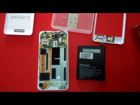 How to Replace Battery Lenovo A5000