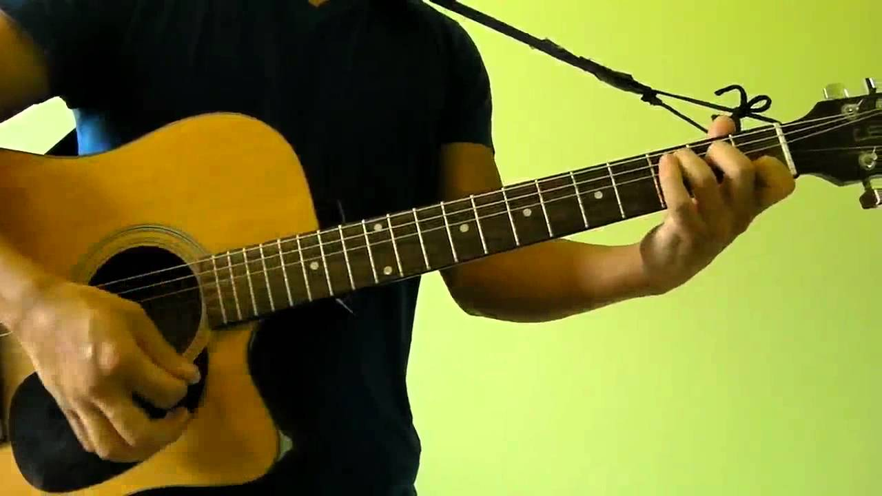 how to play paradise on guitar