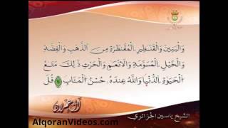 تلاوة مميزة للمقرئ ياسين الجزائري سورة ال عمران