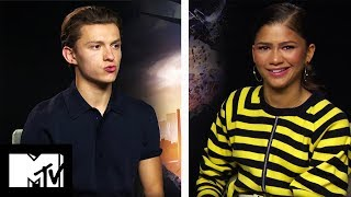 Tom Holland And Zendaya Play Would You Rather | SPIDER-MAN Homecoming | MTV Movies