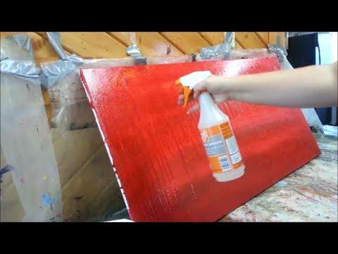 Acrylic Paint Subtle Background Techniques