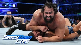 Bobby Roode vs. Rusev - United States Championship Match: SmackDown LIVE, Feb. 6, 2018