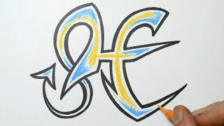 How To Draw Graffiti Letter H