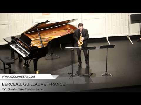Dinant 2014 – BERCEAU, Guillaume (XYL (Balafon 2) by Christian Lauba)