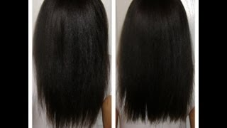 How To Trim Split Ends And Add Layers (length Check