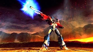 Official Wii U Debut TrailerTransformers Prime The Game