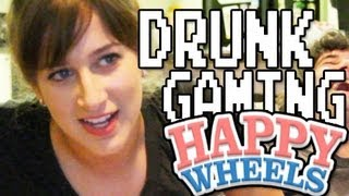 Game | Drunk Gaming Happy Wheels!! | Drunk Gaming Happy Wheels!!